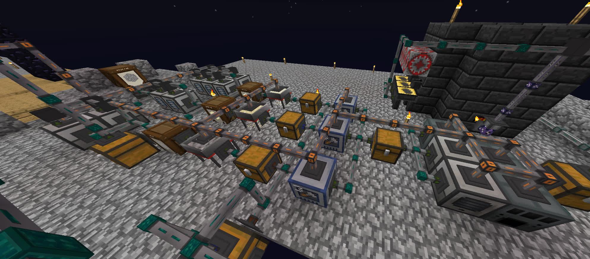 Sky Factory Auto Sieve + Processing Setup