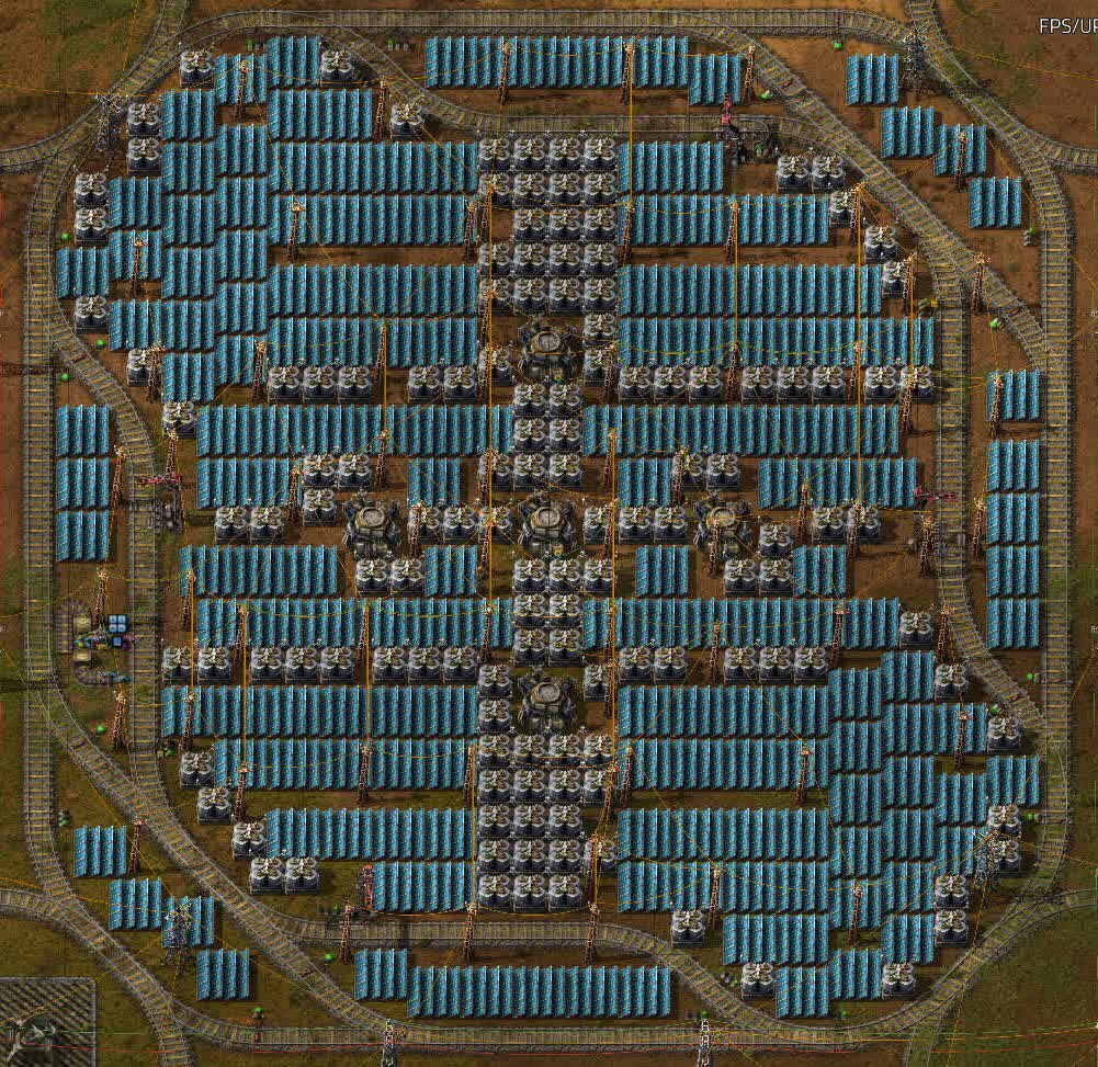 Solar power cell.