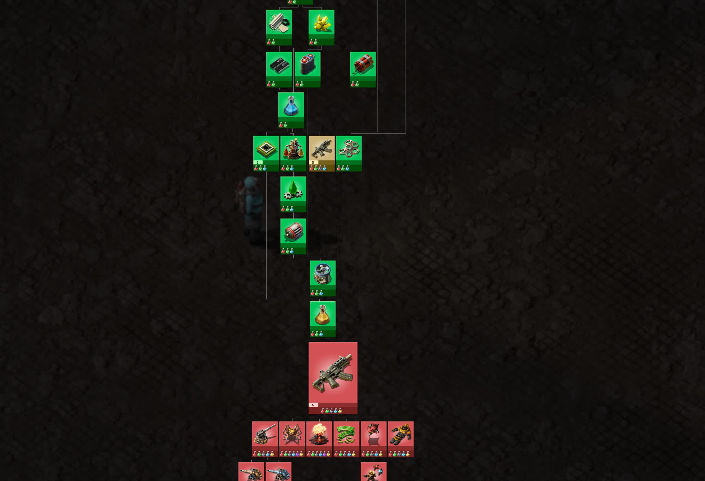 Factorio Tech Tree