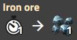 Iron ore recipe