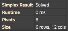 Result information
