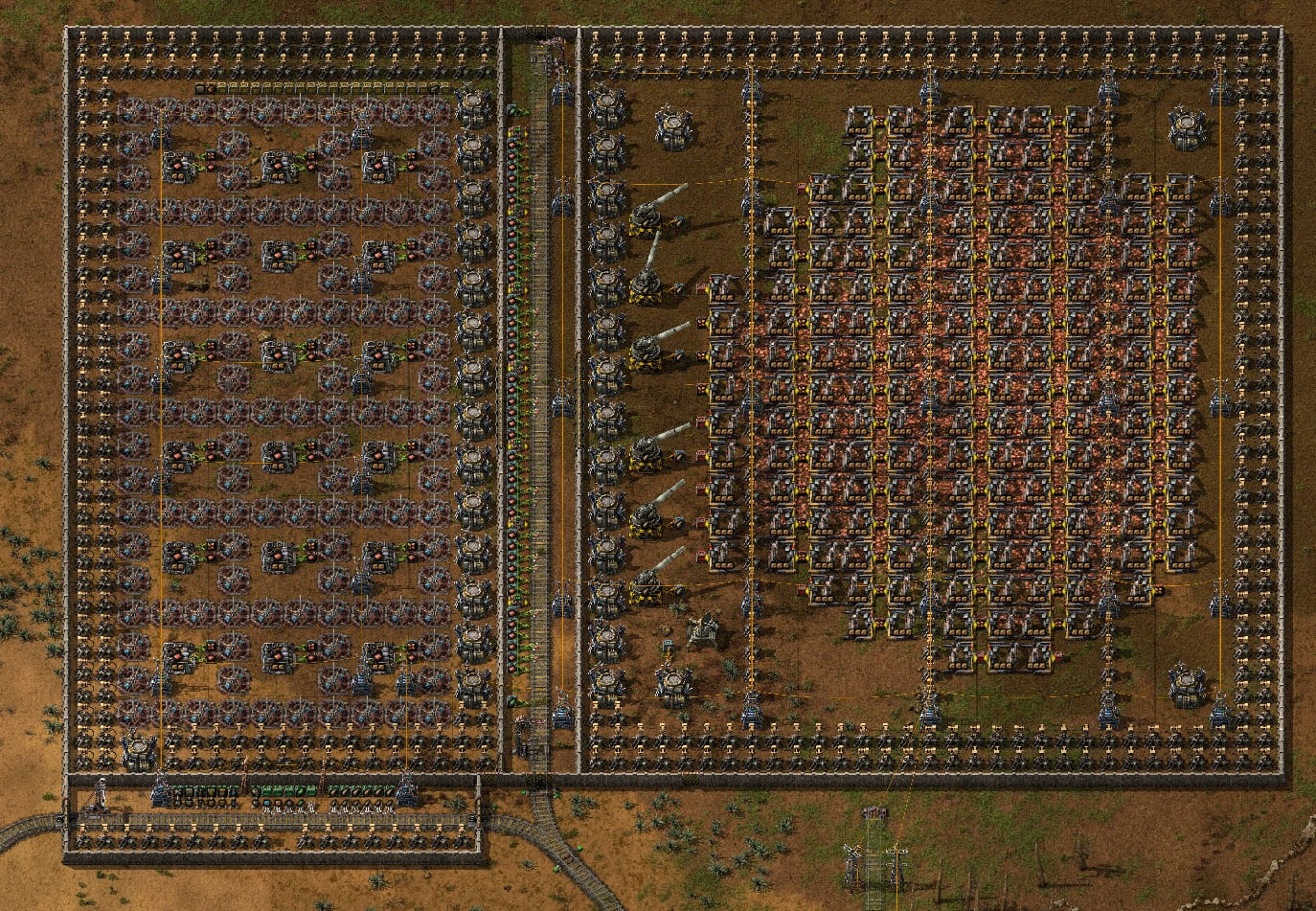 Screenshot of an offsite copper smelting site