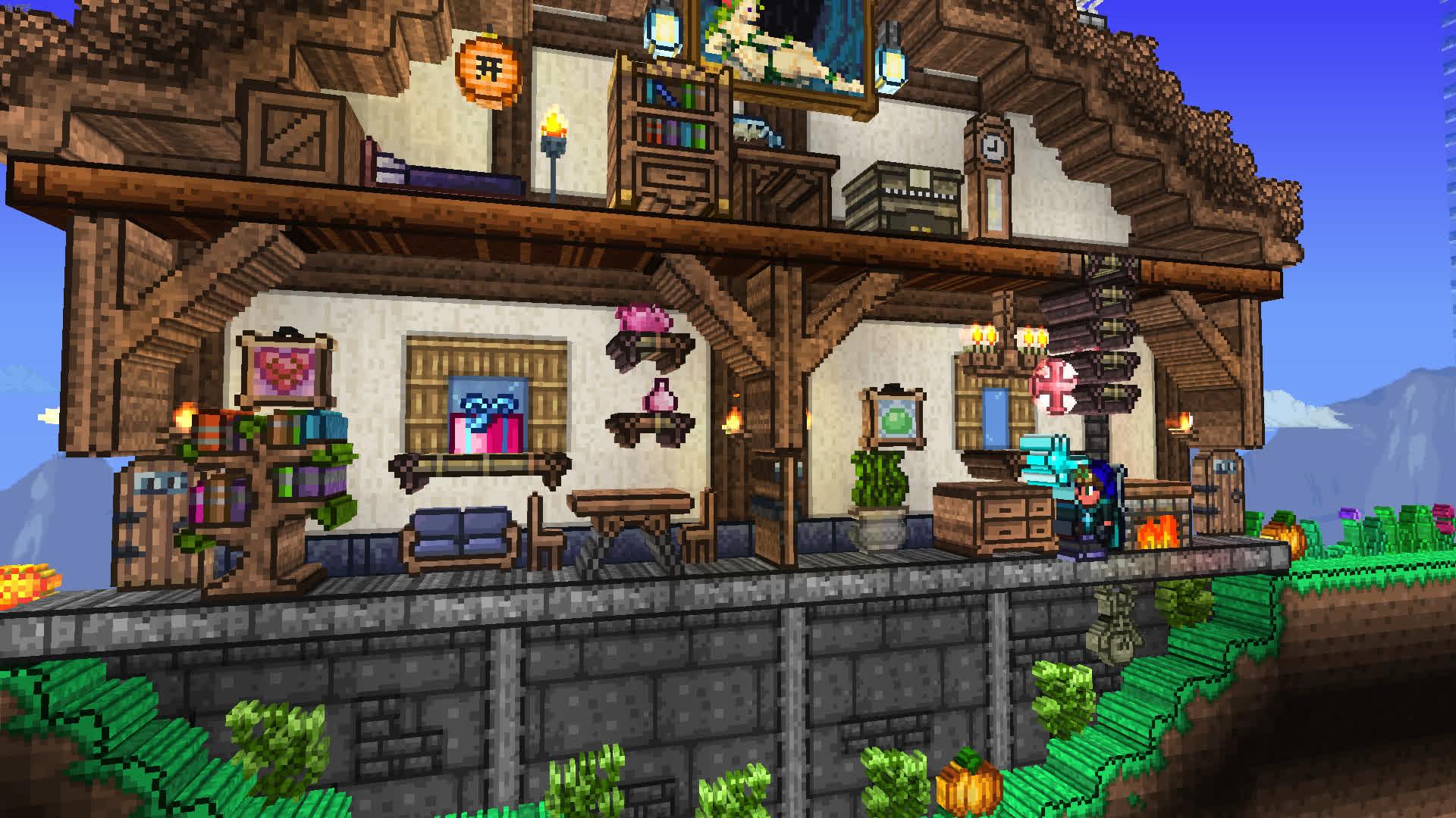 The 3D Terraria mod